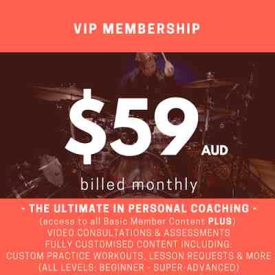 Monthly Membership (VIP)