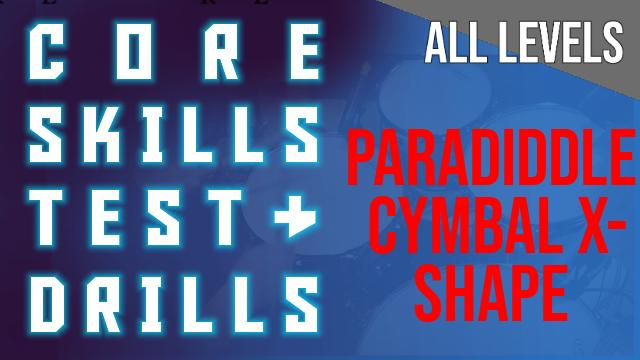 TEST_ HANDS_ Paradiddle – 8Bars – Cymbal X-Shape All Colours